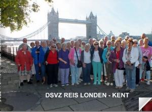 DSVZ reis Londen Kent